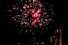 vuurwerk oudjaars avond